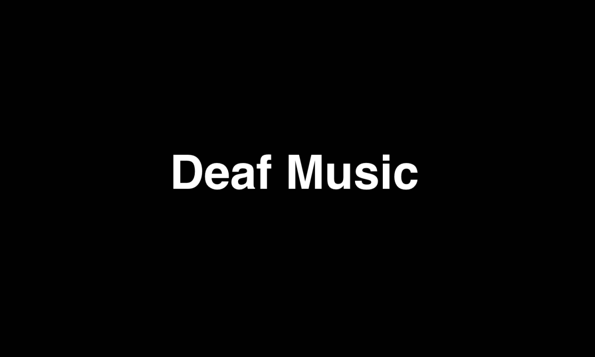 Deaf musicians, let's discuss