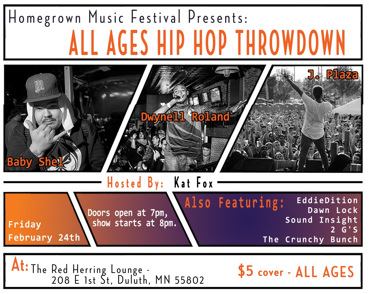 Live In Mn All Ages Hip Hop Show Comes To Duluth